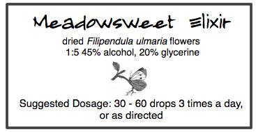 Meadowsweet Elixir
